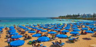 18.0 million overnights stays in Cyprus